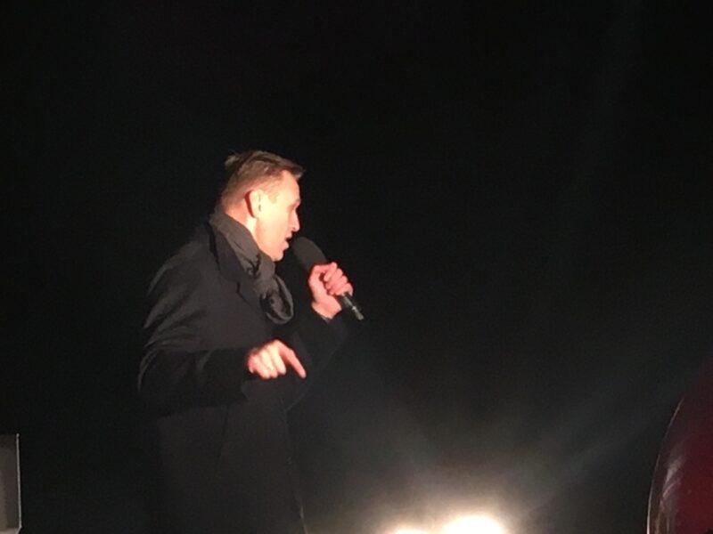 Подельники Навального выгнали с митинга на проспекте Сахарова корреспондента независимого издания