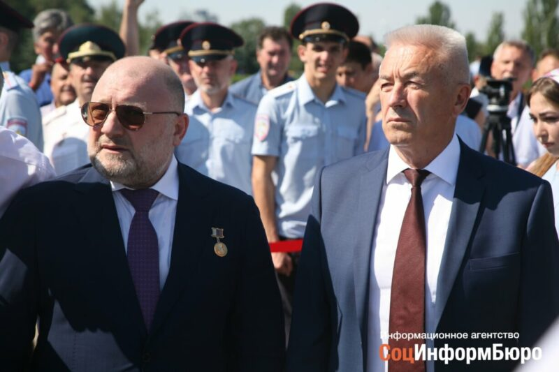 На Мамаевом кургане открыли памятник героям-чеченцам