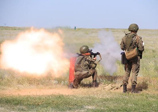 Под Волгоградом стреляли из гранатометов