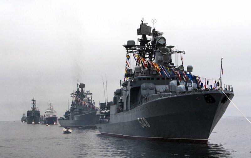 В России празднуют День Военно-Морского Флота