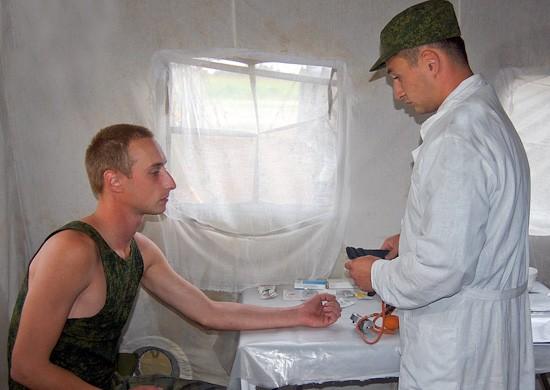 В ЮВО из-за жары изменили распорядок дня военнослужащих