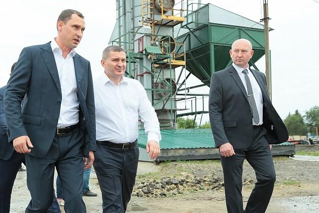 Андрей Бочаров посетил ООО «Пригородное» Фроловского района