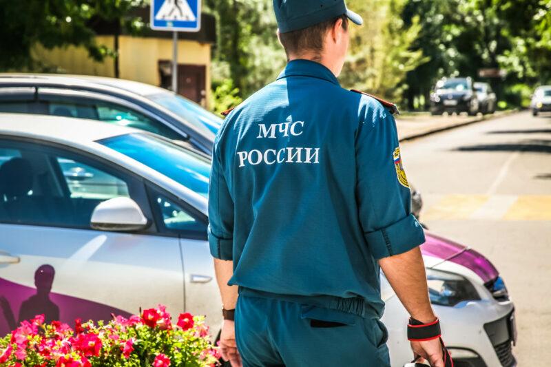 В Волгограде из-за пожара в жилом доме эвакуировали 40 человек