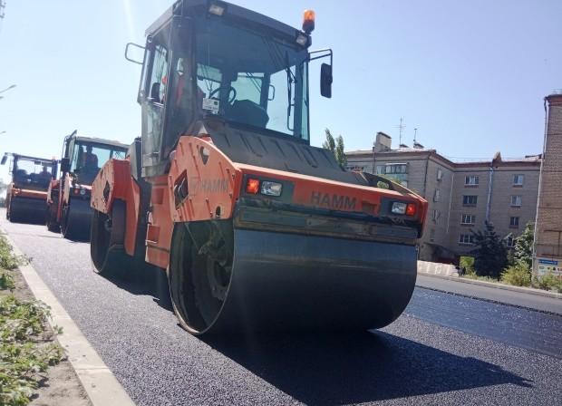 В Кировском районе завершили ремонт улицы Рабочей