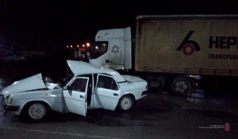 29-летний водитель «Волги» погиб в ДТП с фурой