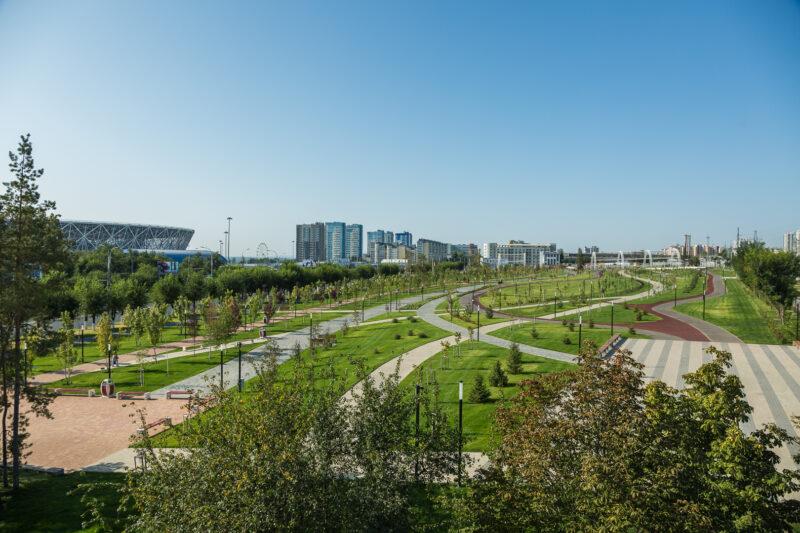Лучшие проекты благоустройства территорий на выставке «Комфортный город: история и современность»