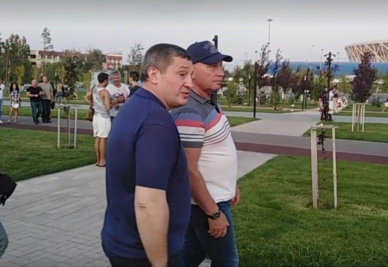 Андрей Бочаров и Виталий Лихачев посетили «Берег»