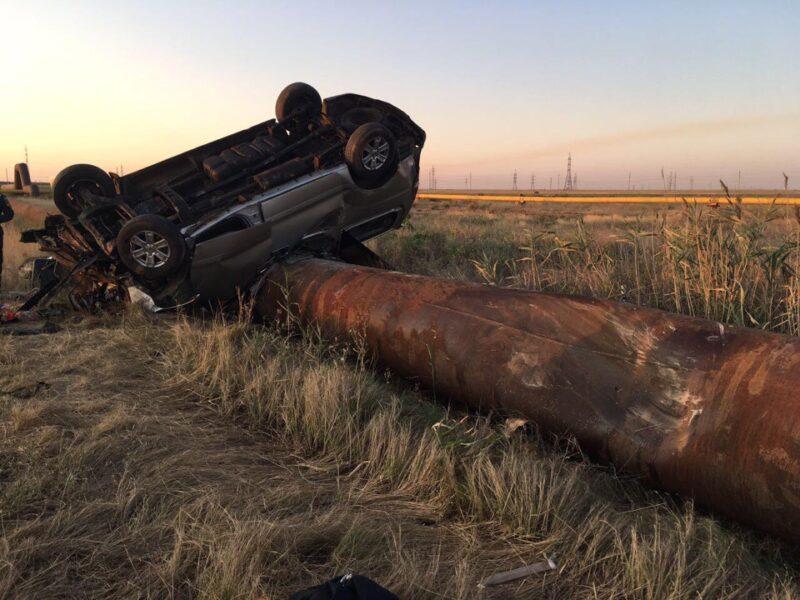 В Сети появились снимки страшной аварии с минивэном Blablacar