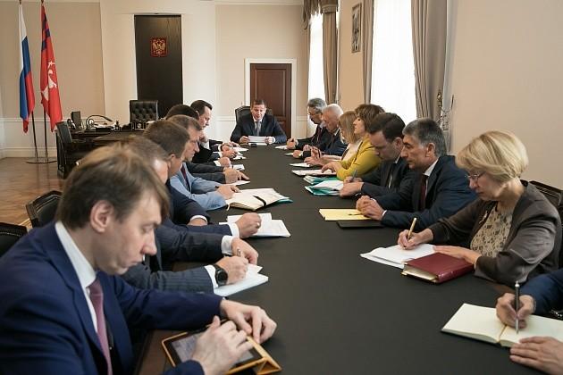 Андрей Бочаров обсудил газификацию региона