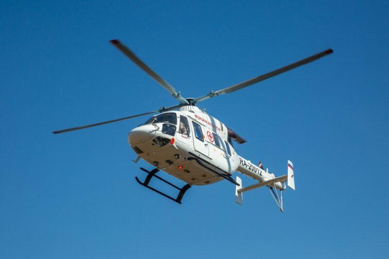 В регионе 150 пациентов было доставлено в больницы на арендованном за 375 млн рублей вертолете