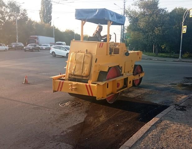 В Кировском районе дорожники завершают ремонт пяти улиц
