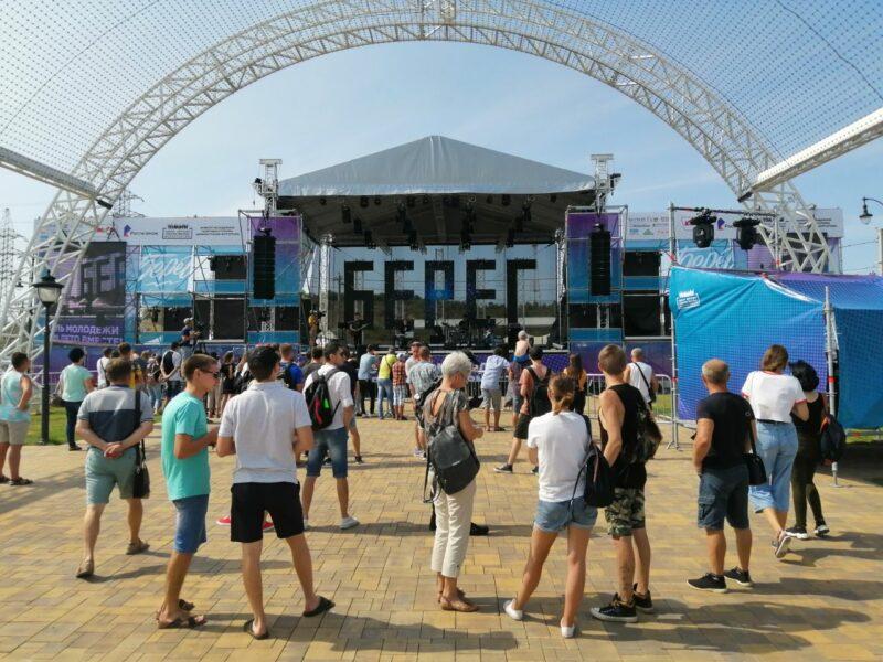 Волгоградские музыканты зажигают на главной сцене «Берега»