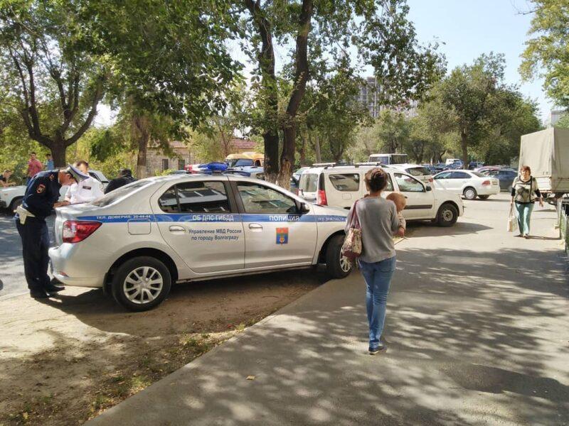 В Волгограде авария на Пархоменко остановила движение общественного транспорта