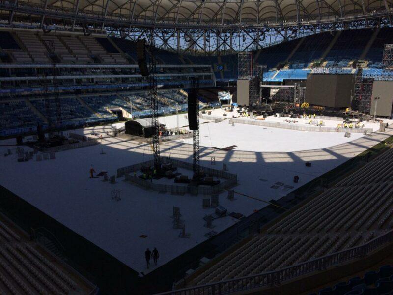 «Волгограду очень повезло»: «Волгоград Арену» подготовили к концерту европейского масштаба