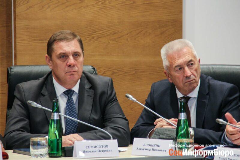 Александр Блошкин избран председателем Волгоградской областной Думы