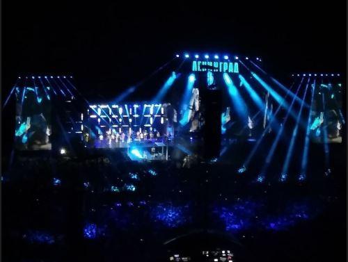 Стадионный концерт «Ленинграда» в Волгограде собрал 40 254 зрителя