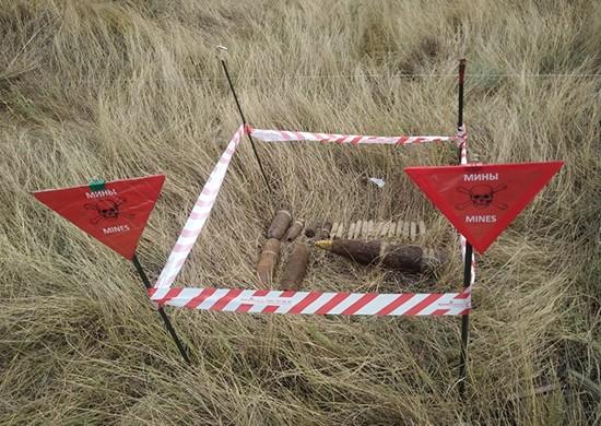 В Светлоярском районе нашли очередные боеприпасы времен ВОВ