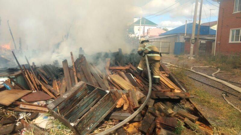 Пожар на улице Вольской ликвидирован