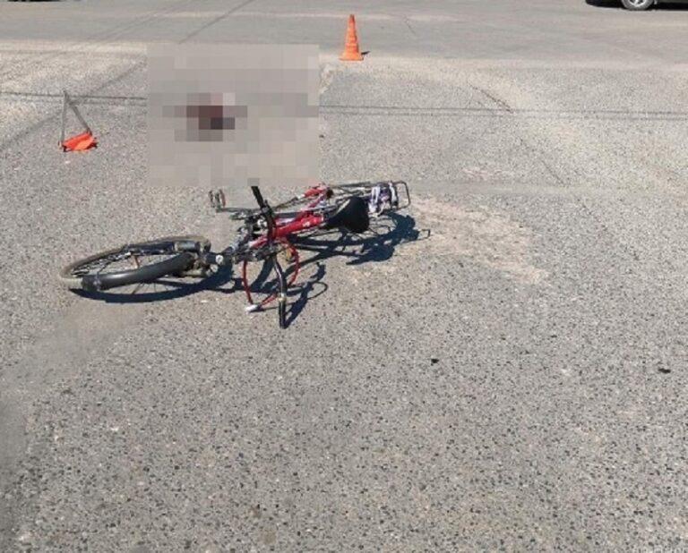 Под Волгоградом в очередной раз сбиты дети на велосипеде