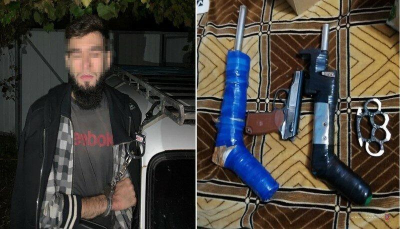 Житель Волгоградской области организовал на даче теплицы с марихуаной и оружейный арсенал