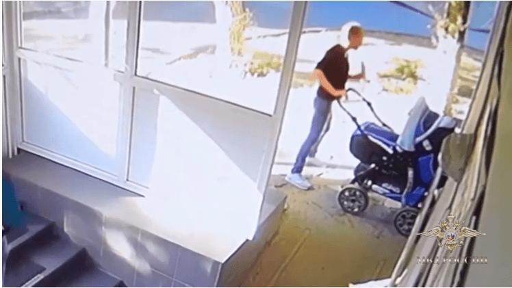 Волгоградка бросила месячного ребенка на улице и уехала в Калач-на-Дону (видео)