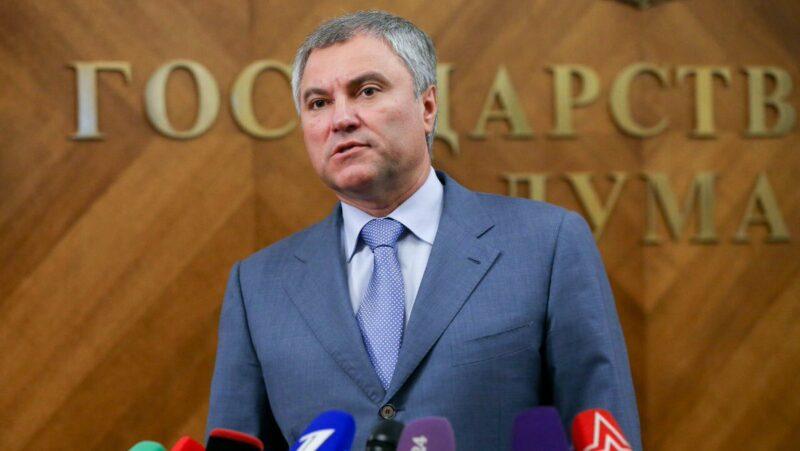 Вячеслав Володин: «Если мы говорим об ответственном отношении к своим обязанностям, то необходимо начинать с себя»