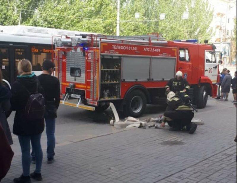 2 октября в Волгограде эвакуировали Ворошиловский торговый центр