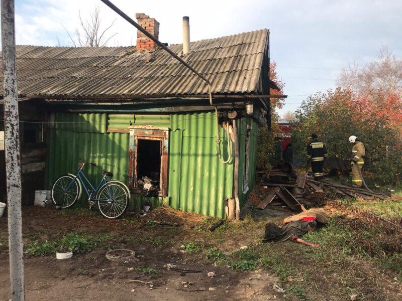 В огне пожара погибли двое жителей Волгоградской области