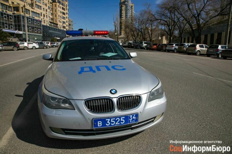 В Волгоградской области в ДТП пострадал несовершеннолетний мотоциклист