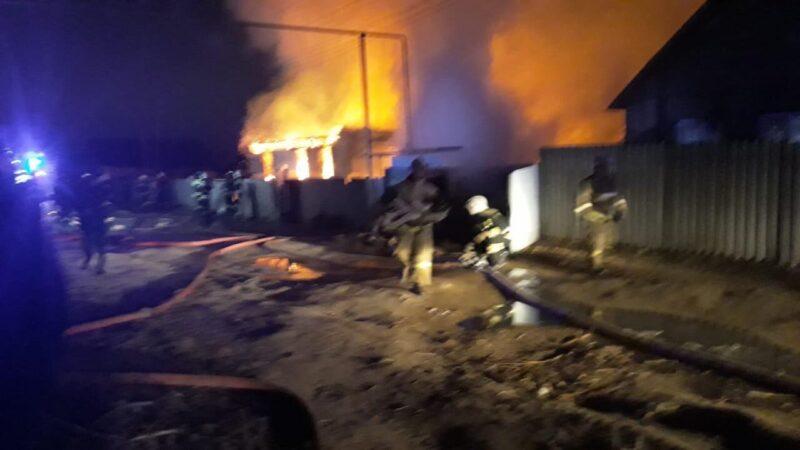 Эксперты назвали причину пожара в Верхней Ельшанке