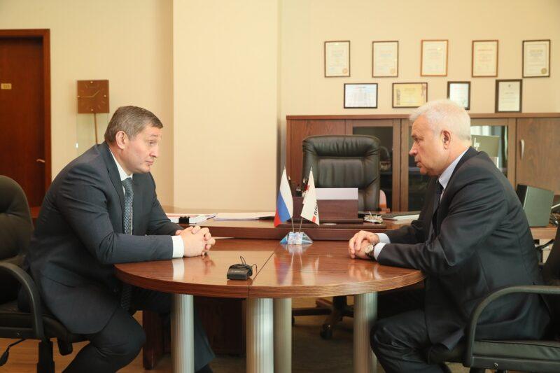 Андрей Бочаров встретился с Вагитом Алекперовым