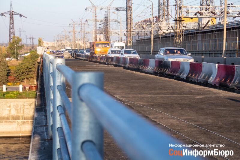 На мосту через Волжскую ГЭС завершились основные работы этапа 2019 года