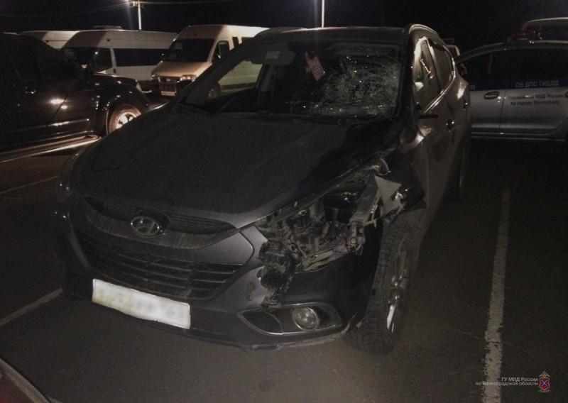 В Волгограде нашли «Hyundai IX35», на котором насмерть сбили человека