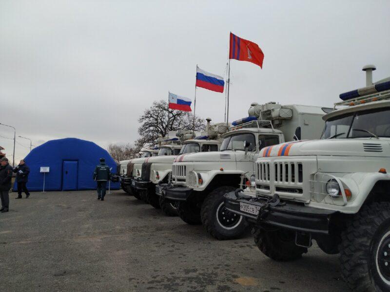 «Готовы к зиме»: В Волгоградской области прошли широкомасштабные учения