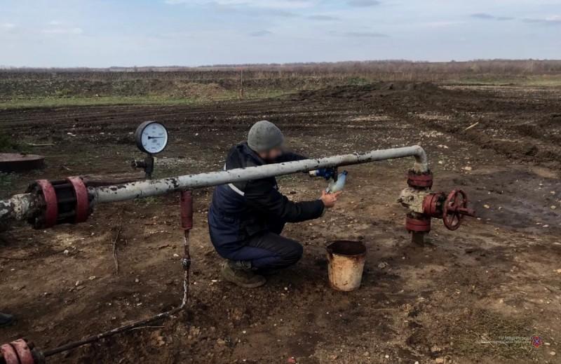 Под Волгоградом задержали дерзких похитителей нефти