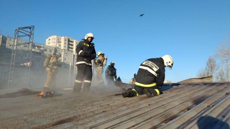 Названа причина пожара на рынке «Олимпия»