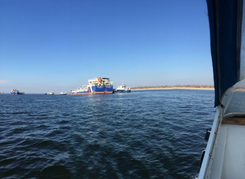 В Волгограде пытались обокрасть танкер