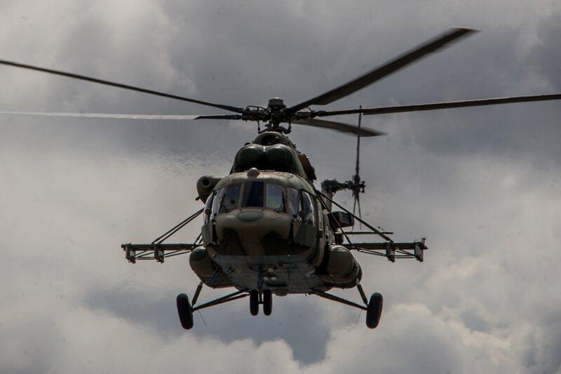 Два пилота погибли в разбившемся на Кубани вертолете