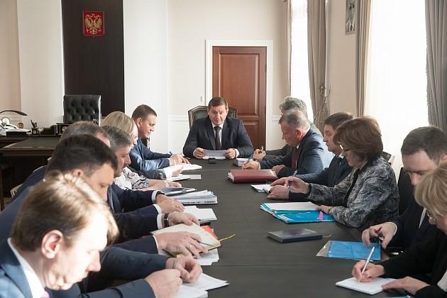 Андрей Бочаров огласил список задач на зиму