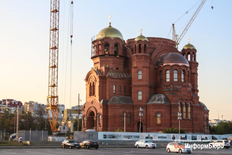 На площади Павших Борцов строят пешеходный фонтан за 30 миллионов рублей