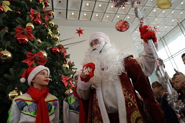 В Волгограде проходят губернаторские ёлки