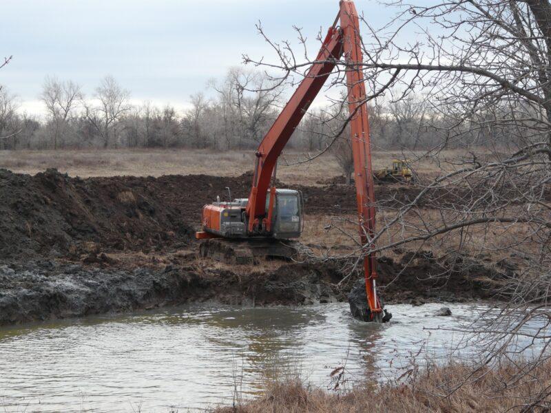 В Волго-Ахтубинской пойме восстановили 3 озера