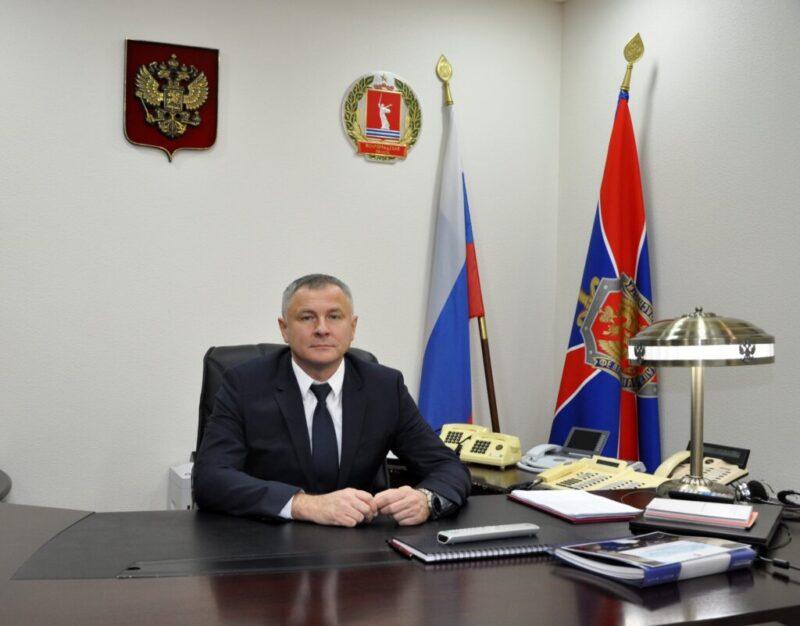 В волгоградском УФСБ новый начальник