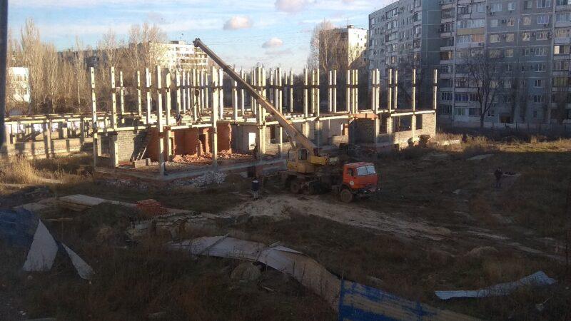 В Кировском районе сносят детский сад