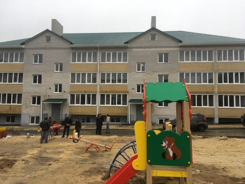 Под Волгоградом обманутые дольщики наконец-то получили свои квартиры