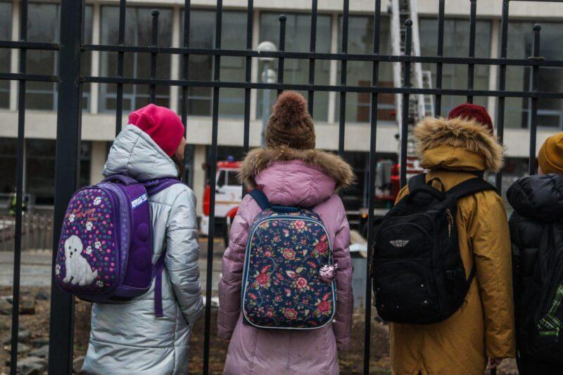 В Волгограде эвакуировали ДЮЦ из-за условного пожара