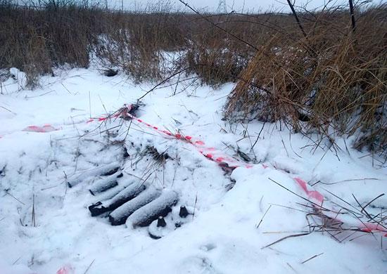 На Прудбое взорвали артиллерийские снаряды
