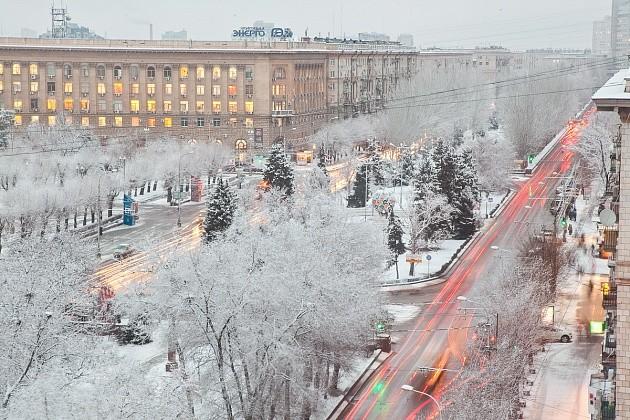 На дороги Волгоградской области высыпали больше 400 тысяч тонн реагентов
