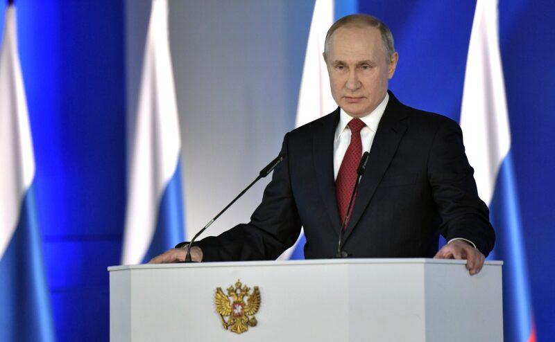 Дополнительные выплаты детям до 7-ми лет: Путин начал свое послание с вопроса демографии