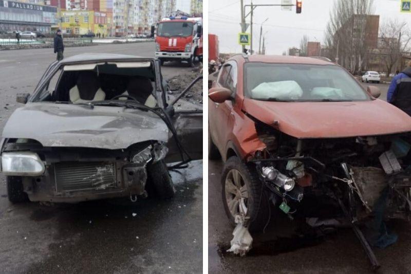 3-летняя пассажирка чудом избежала серьезных травм в ДТП под Волгоградом